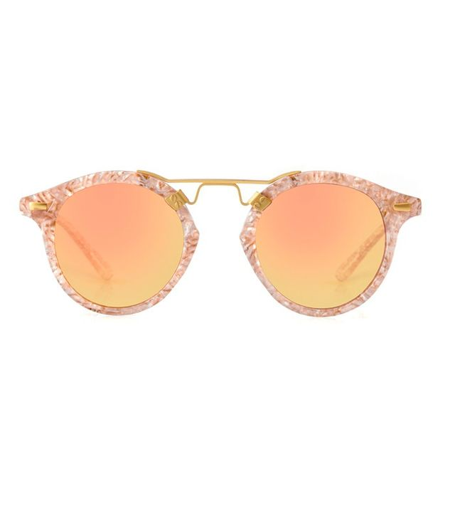 Krewe du Optic St. Louis Sunglasses in Camellia