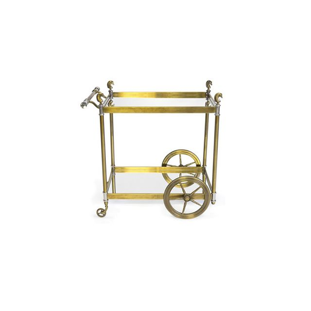 Coco Republic Cheval Bar Cart