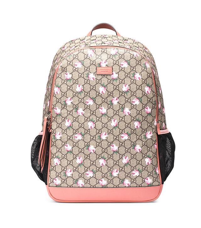 Gucci Flowers Diaper Bag