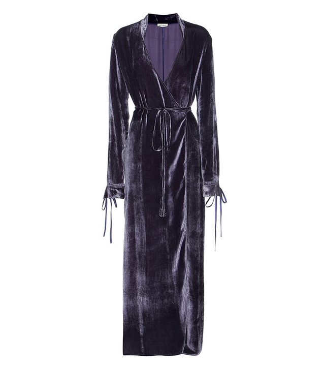 Attico Velvet Night Gown