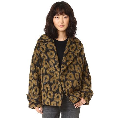 Kessy Print Coat