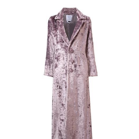 Long Artificial Fur Coat