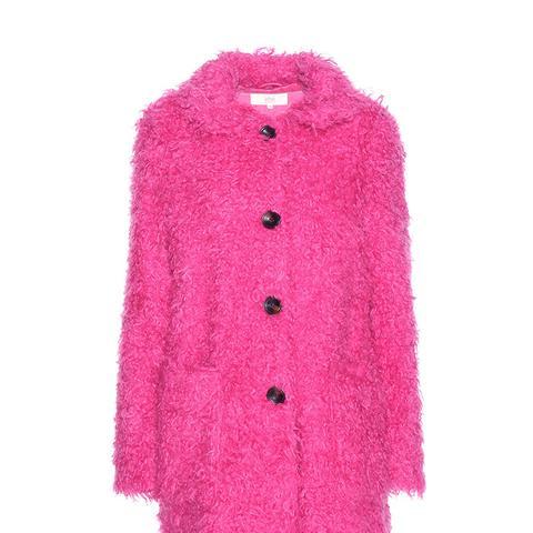 Faux Shearling Coat