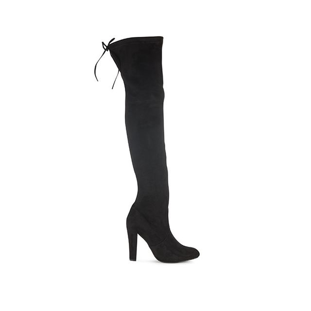 Steve Madden Rear Tie-Up Over-the-Knee Boots