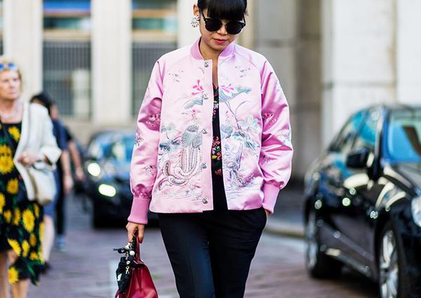 oriental bomber jacket susie lau street style