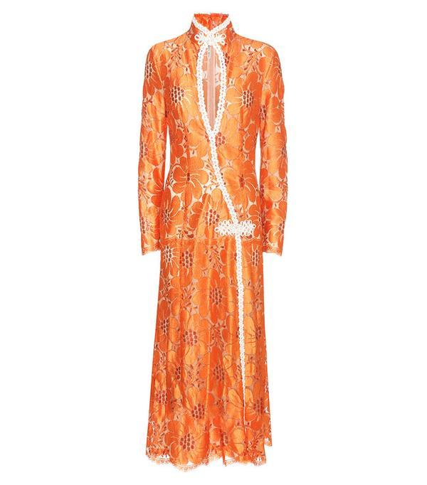 Alessandra Rich Lace Dress