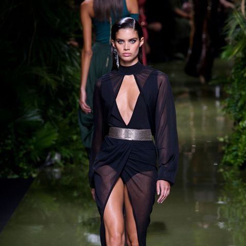 All Your Favourite Models Walked in the Balmain Show