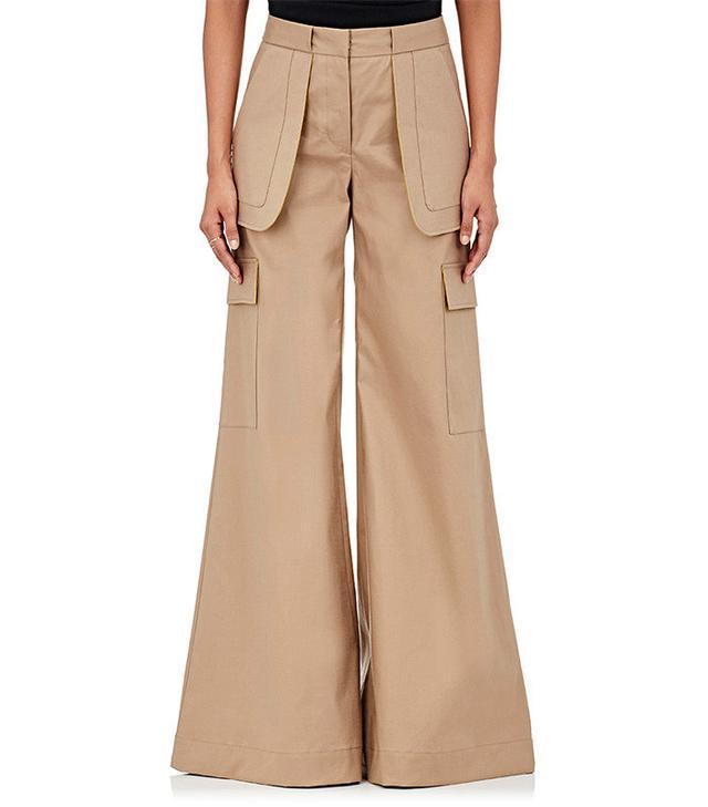 OFF-WHITE c/o VIRGIL ABLOH  Cotton-Blend Wide-Leg Pants