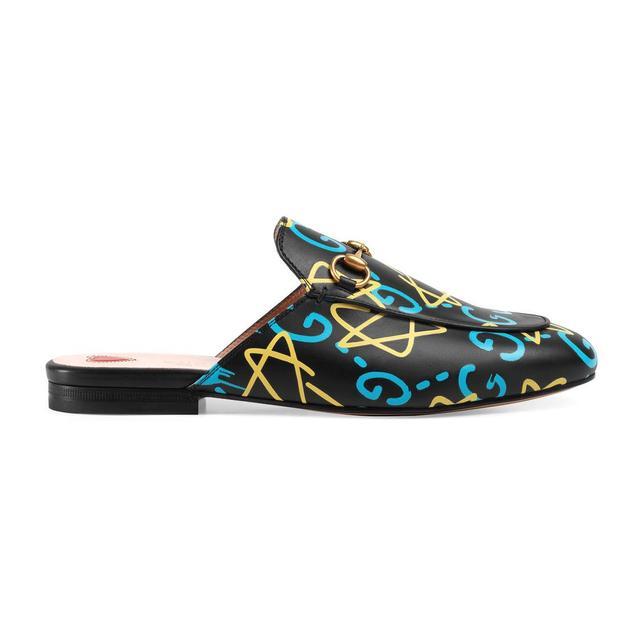 Gucci GucciGhost Princetown slipper