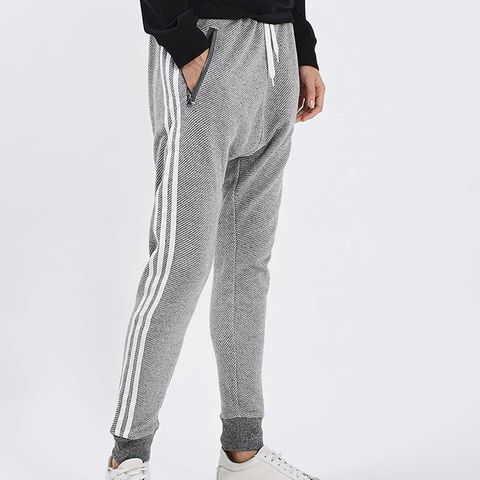 Knitted Zip Track Pant