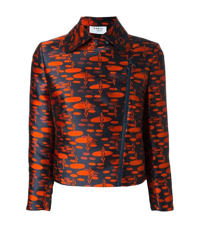 Akris Zipped Printed Jacket