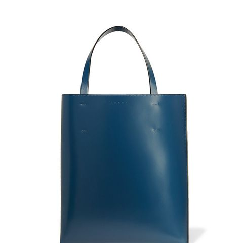 Museo Two-Tone Leather Tote