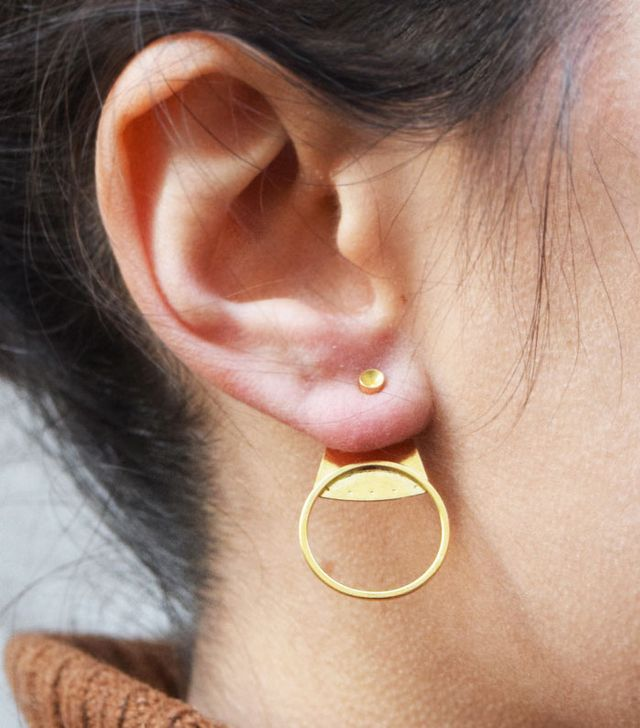 Louise Damas Emma Under Lobe Earrings