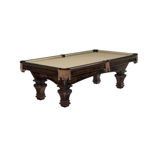 Brunswick Ashbee Pool Table in Espresso