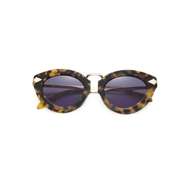 Karen Walker Lunar Flowerpatch 51MM Cat's-Eye Sunglasses