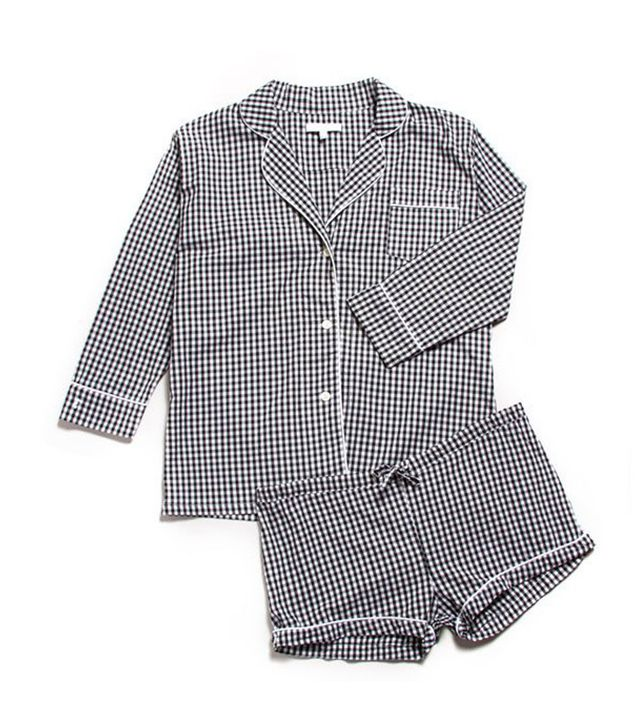 Marigot Maya Check Short Pajama Set