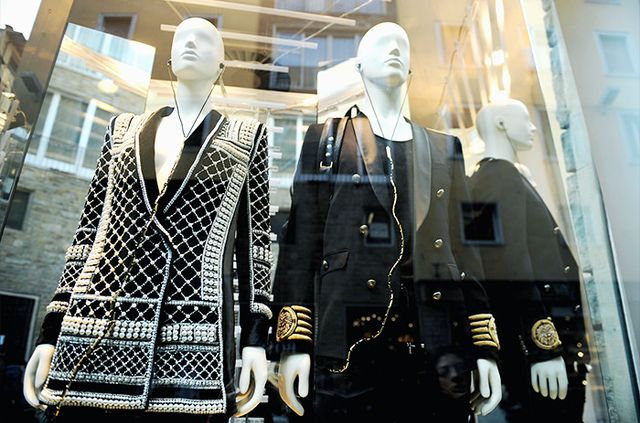 Balmain Fact #7: The H&M collab was revealed prematurely on the internet.