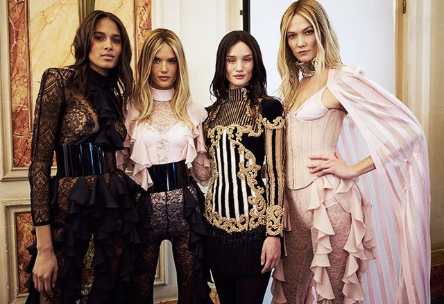 Balmain Fact #12: The brand almost went bankrupt in 2004.
