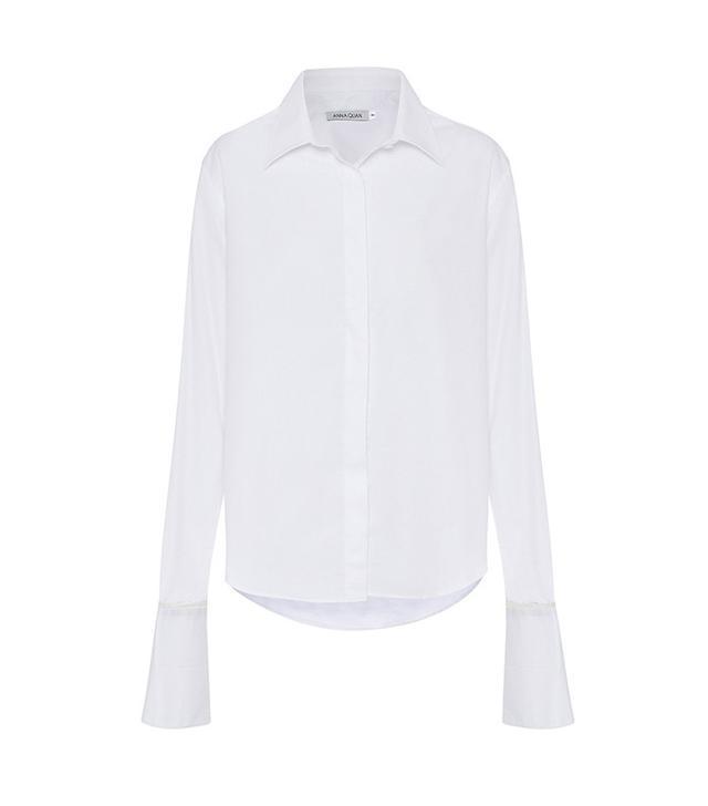 Anna Quan Anne Shirt with White Trim