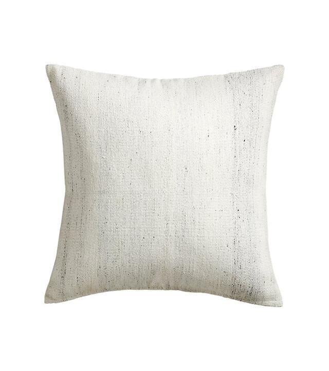 CB2 Rook Ivory Pillow
