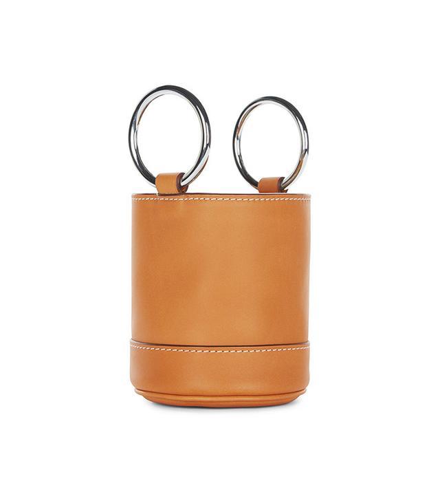 Simon Miller Bonsai Double Circle Handle Bag in Tan