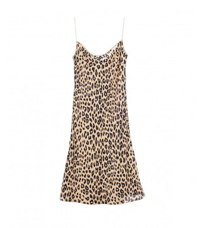 Kate Moss x Equipment Jessa Bias Slip Dress