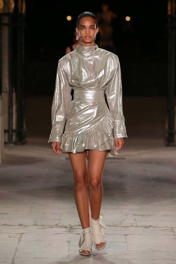 See Every Look From Isabel Marant's Feminine, Cool Catwalk ...