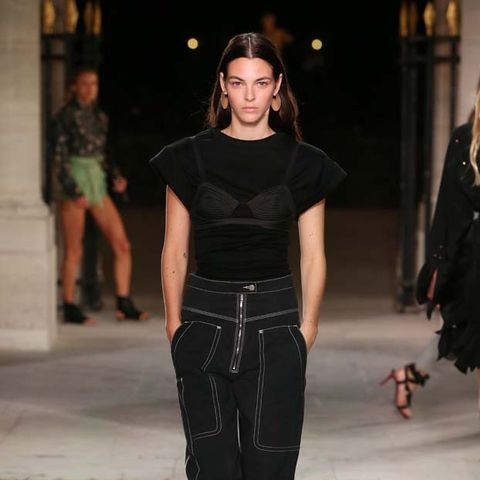 See Every Look From Isabel Marant's Feminine, Cool Catwalk