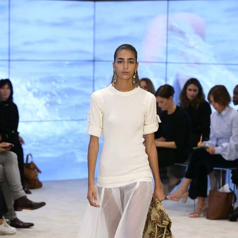 Can We Talk About the Sleeves at Loewe's S/S 17 Runway Show?