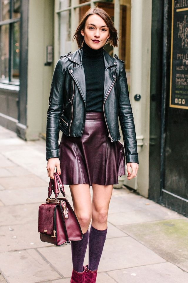 See How This Blogger Masters Jewel Tones for Fall
