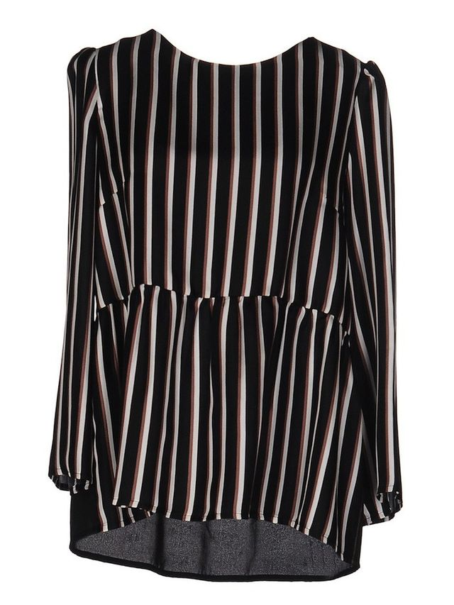 Shirtaporter Striped Blouse