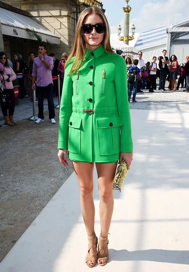 These strappy heels were a recurring favorite of Olivia Palermo.