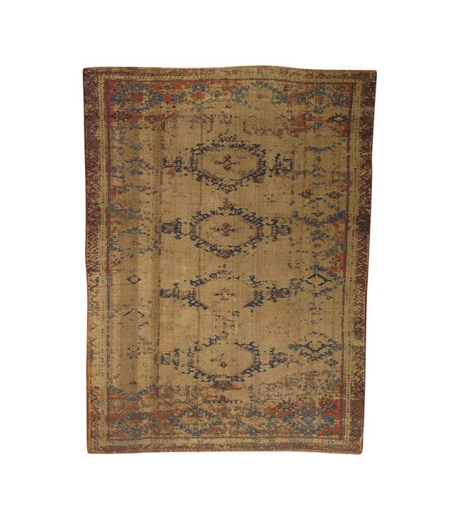 Lawrence of La Brea Souk Antique Rug in Wool