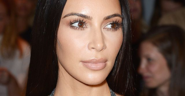 This Is What Kim Kardashian Looks Like Without Makeup  Byrdie