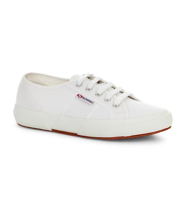 Superga 2750 Classic White Plimsoll Trainers