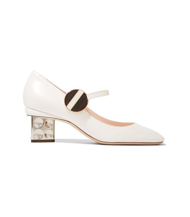 Nicholas Kirkwood Ciara Leather Mary Jane Pumps