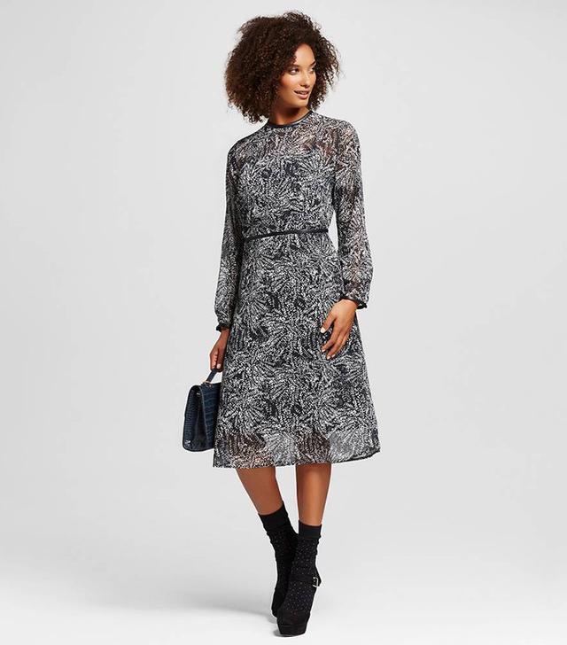 Who What Wear Midi Dress
