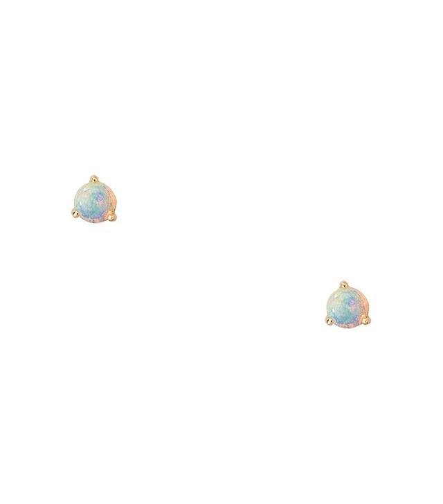 WWAKE Large Opal Earrings