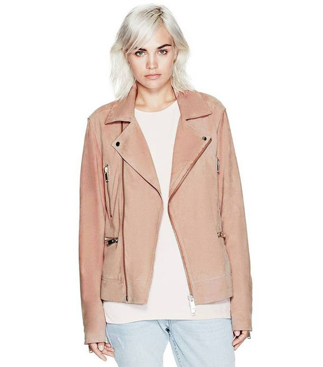 Guess Suede Biker Jacket