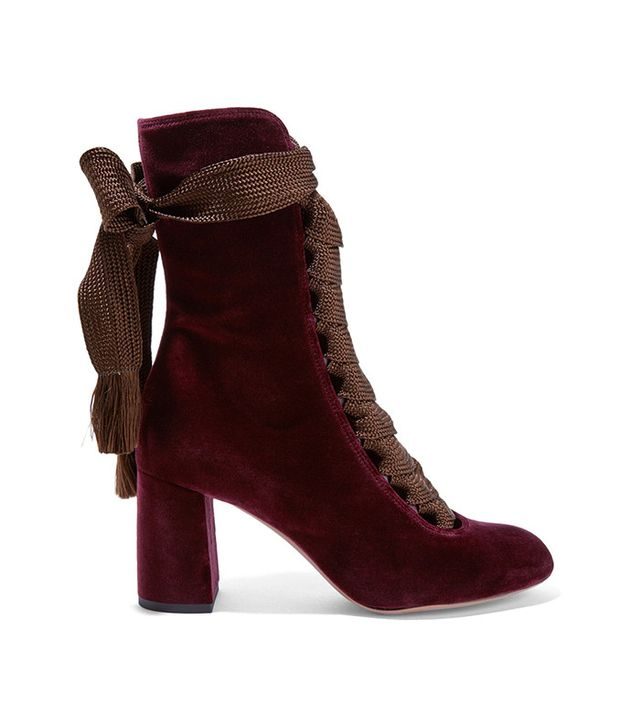 Chloé Lace-Up Boots