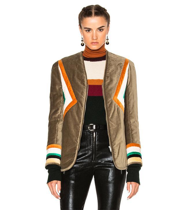 Isabel Marant Etoile Lailya Velvet Jacket
