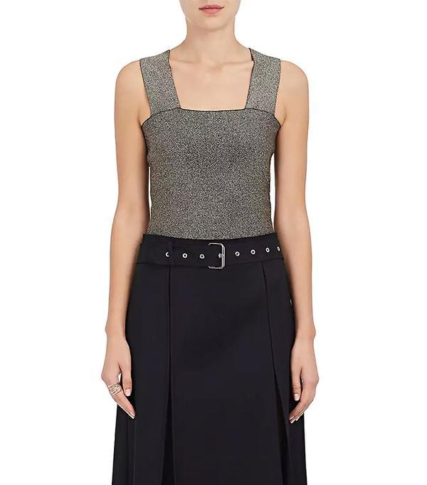 Women's Lia Metallic Compact Knit Top
