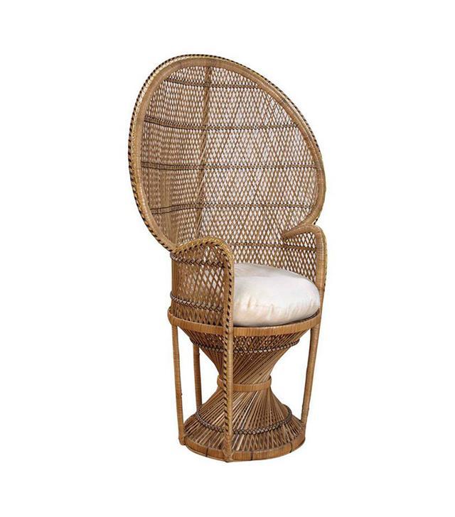 Hayneedle Rattan Peacock Chair