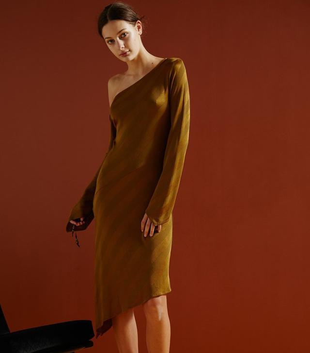 Vintage Shoulder Dress