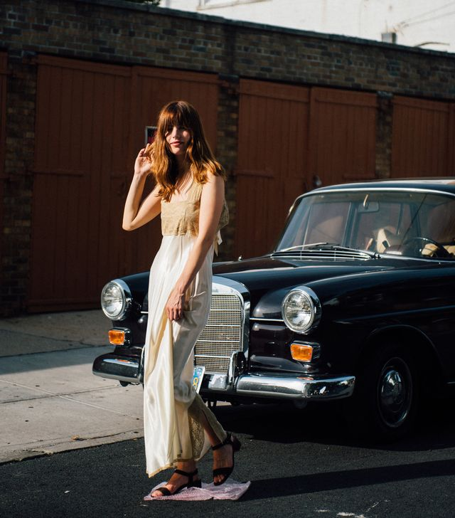 Vintage Silk Lace Dress