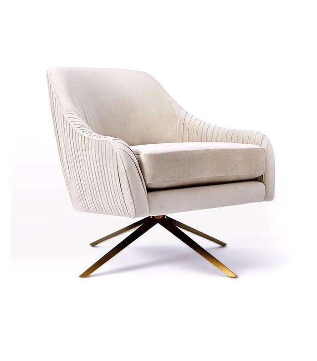 West Elm Roar and Rabbit Swivel Chair