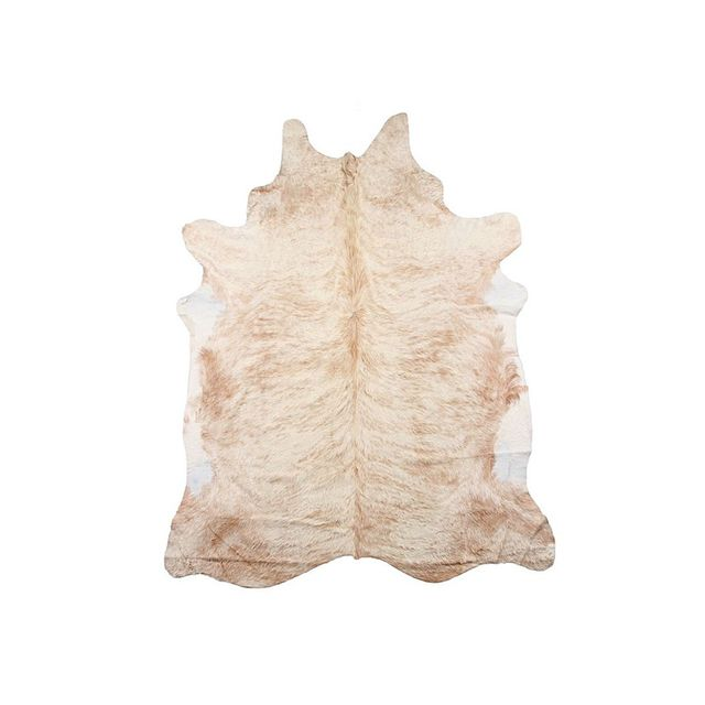 Zanui Natural Cowhide Rug