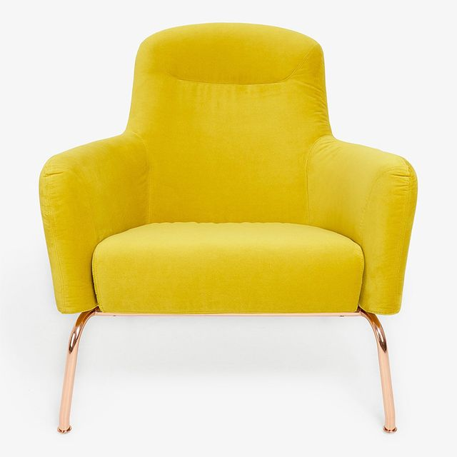 ABC Home Softline Havana Yellow Lounge Chair