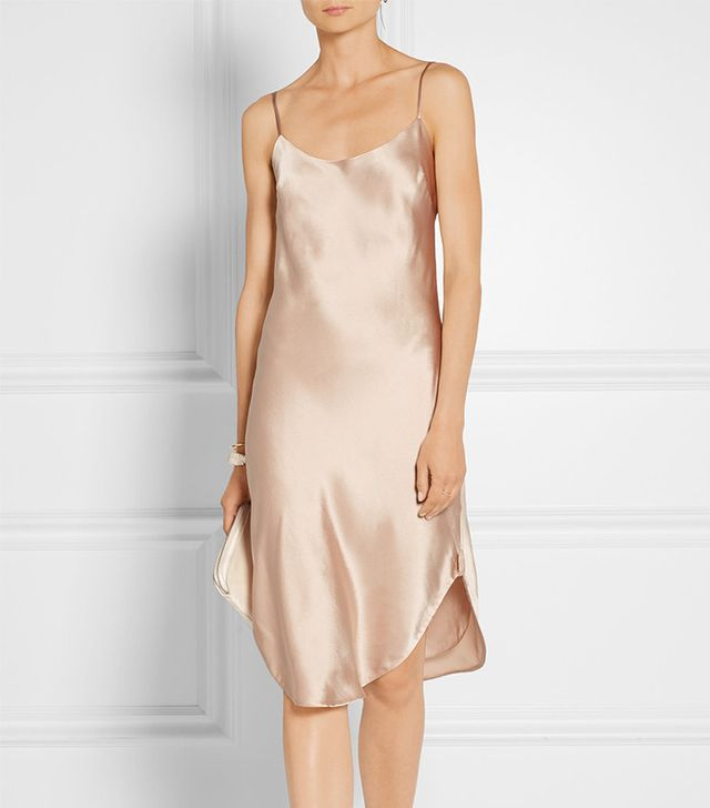 Maiyet Silk-Charmeuse Dress
