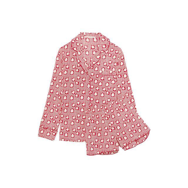 Stella McCartney Poppy Snoozing Printed Pajama Set